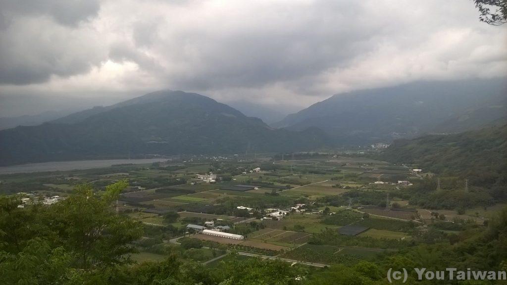 鹿野高台からの眺め