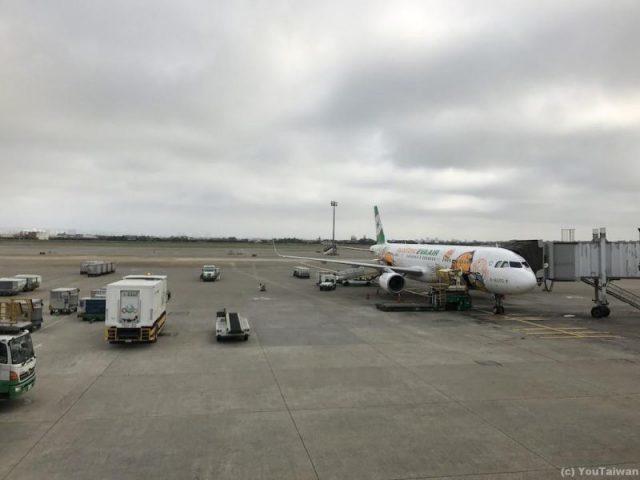 EVAぐでたまジェットA321@桃園空港