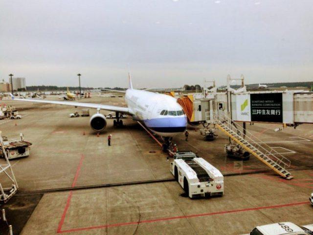 中華航空成田ー台北A330