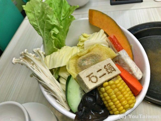石二鍋の野菜セット