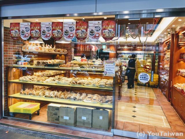 日本とあまり変わらない順成蛋糕の店内